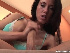 Breasty sweetheart Kimberly Kole admirable cook jerking