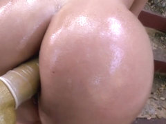 Double Penetration for Blonde Big Booty...