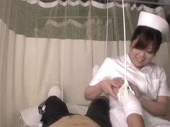 Medical sex video in which a nurse rides her patient's cock
