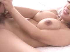 Horny Japanese slut Marina Isshiki in Fabulous Big Tits, Cunnilingus JAV movie