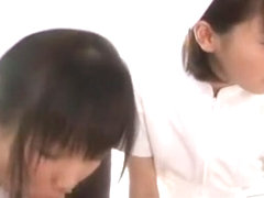 Best Japanese whore in Crazy Medical, Handjobs JAV video