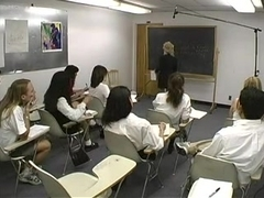 Beauties spanked by her teacher three