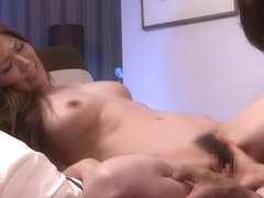 Amazing Japanese slut Yuna Shina in Crazy JAV censored POV, Hairy clip
