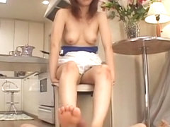Incredible Japanese model Hime Ayase in Amazing Foot Fetish JAV movie