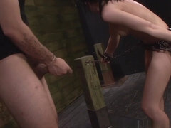Curious Euro Slut Nikki Bell Has Earned Slave Training
