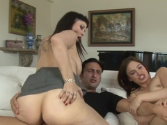 Hottest pornstars Carrie Ann, Ike Diezel, Jodie Taylor in Amazing Big Ass, Big Tits adult clip