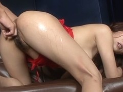 Exotic Japanese girl Yuu Uehara in Horny JAV uncensored Fingering clip