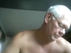 Grandpa naked gym