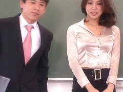 Crazy Japanese model Erika Nishino in Amazing handjobs, panties JAV video