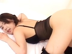 Crazy Japanese model in Amazing JAV uncensored Stockings movie