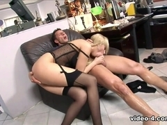 Donna Bell in Caught with finger in pussy she gets fucked by the boss - Fhuta