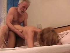 Old chap fuck gal full tape