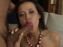 Elena Lombard feels dick in ass after deep throat