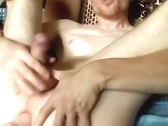 LanaTuls - Ass fingering, sex machine fucked and cumming