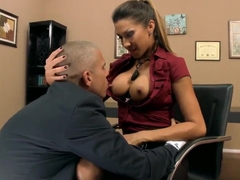 Super fucking treat from Kayla Carrera for her boss!