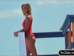 Baywatch babe Kennedy Leigh gets intensely fucked by stalker
