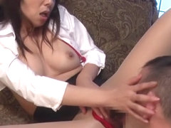 Kimika Ichijo in Plump Tan Milf part 5