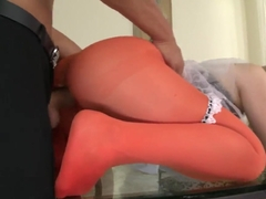 Wonderful orgasm in pose 69 by young sexy couple: Nesty and her friend