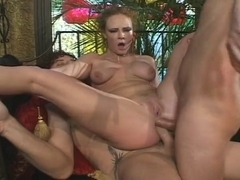 Audrey hollander double anal