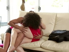 Amazing pornstars Misty Stone, Missy Stone, Sovereign Syre in Horny Fingering, Cunnilingus adult c.