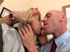 Big Tits at Work: I Can Fuck My Way Out Of It
