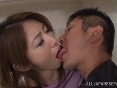Akari Hoshino and Riko Myase hot mature sex fun