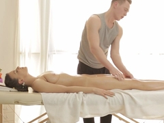 Incredible pornstar Silvia Jons in Best Massage, College xxx scene