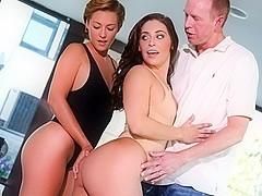 Gracie Glam & Bailey Bae & Mark Wood in Couples Seeking Girls #16