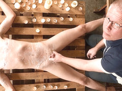 Taint Kicking Suck Off! - Cameron James And Sebastian Kane - Boynapped