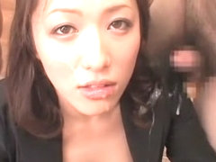 Exotic Japanese whore in Amazing Facial, Cumshot JAV movie