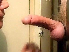 MELBOURNE-- BIG AUSSIE DICK IAN RETURNS TO THE GLORYHOLE