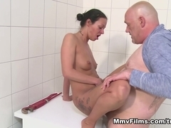 Cleaner Polishes A Cock Video - MmvFilms
