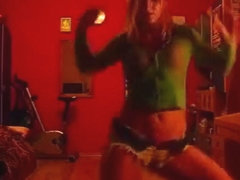 Excited a-hole pop livecam teenager record