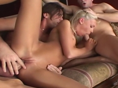 Best pornstar Jenny Baby in amazing blowjob, dp adult video