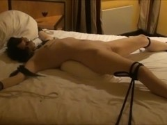 Maleen the small Norwegian whore in bondage