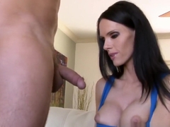 Mom with great titties sucks and fucks cock