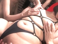 Exotic Japanese chick in Hottest HD, BBW JAV clip