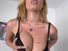 Donna Bell with her beautiful big tits!