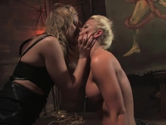 Fabulous fetish adult clip with horny pornstars Holly Heart and Maitresse Madeline Marlowe from Wh.