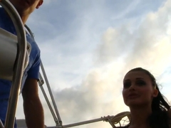 Aletta Ocean dirty fuck on board the boat