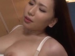Alluring and hot Asian milf Sayuki Kanno gives expert blowjob