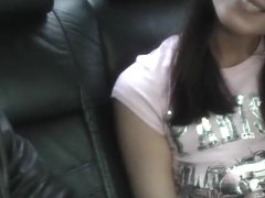 Youthful student fuck in the car