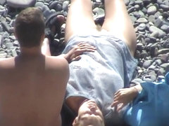 Nude Beach. Voyeur Video 252
