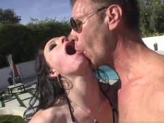 Fabulous pornstars Jennifer White, Vicki Chase, Rocco Siffredi in Hottest Stockings, Big Ass adult video