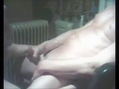 Boyfrend Sucks Chap Pecker On Web Camera