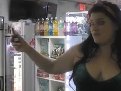 Big Booty Plumper Angelina Castro Fucks Shop Owner for Smoke